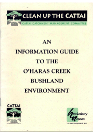 CCMC-OHaras_Creek_Bushland_Environment